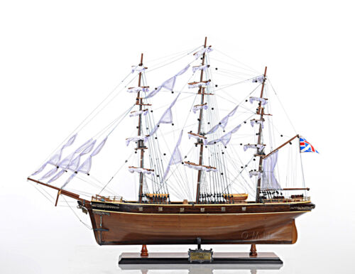 "Cutty Sark Wooden China Clipper Tall Ship Model 34"" Fully Assembled Boat"