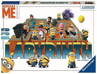Ravensburger Familienspiel Labyrinth Ich Einfach unverbesserlich 26730 (Minion Party-spiele)