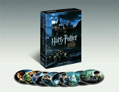 NEW SEALED Harry Potter The Complete 8-Film Collection (DVD 2011, 8-Disc Set) US