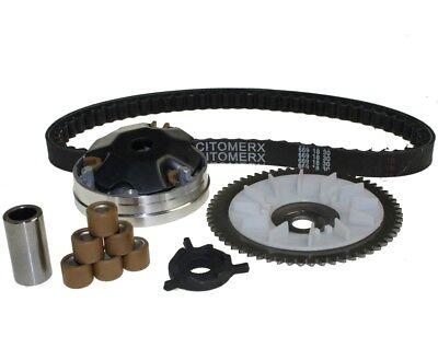 Variomatik Set Kit komplett + Keilriemen für 50ccm 4-Takt Rex RS 450
