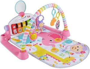NEW Fisher-Price Deluxe Kick  Play Piano Gym, Pink Condition: New
