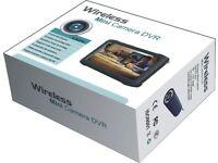 wireless camera gutter high reach recordable mini DVR