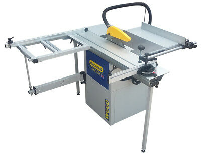 """Charnwood W660 10"""" Woodworking Panel Saw with Sliding Beam"""