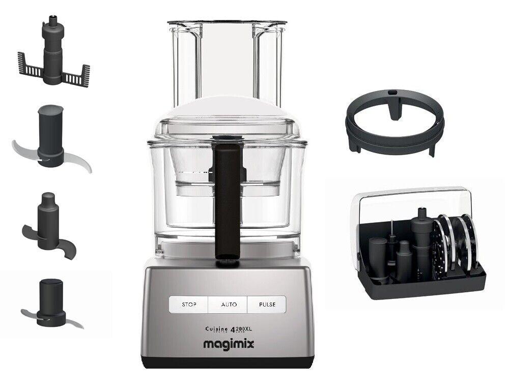 Magimix Cuisine Système 4200 XL Küchenmaschine chrom matt