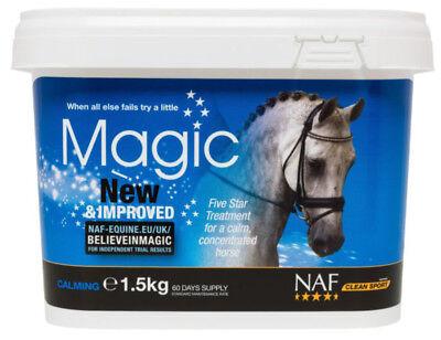 NAF MAGIC 5 STAR 1.5KG Horse Calmer Supplement