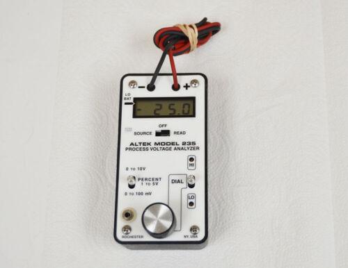 ALTEK Model 235 Process Voltage Analyzer - Free US Shipping