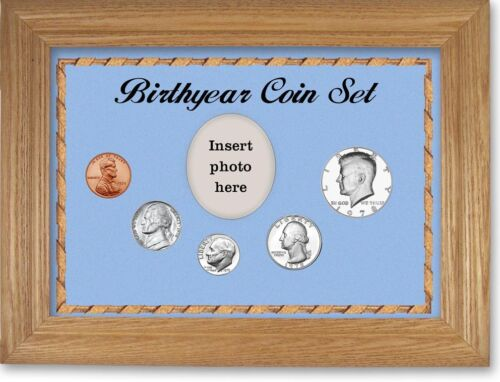 Framed Birth Year Coin Gift Set For Boys, 1978