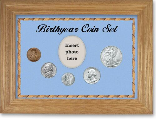 Framed Birth Year Coin Gift Set For Boys, 1944