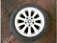BMW 1 series alloys and tyres 195/55R16