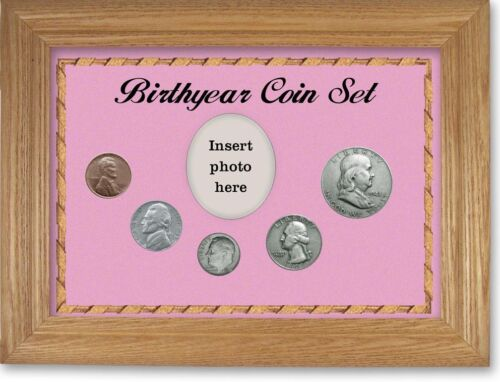 Framed Birth Year Coin Gift Set For Girls, 1948