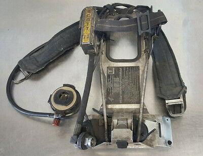 Scott 2.2 Air Pack Scba Harness Ez Flo Regulator Vibralert Sensor Module