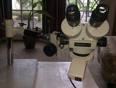 Meiji Emz-5 Swf10x 7x-45x Mag Stereo Zoom Microscope Wpbh Boom Standlight