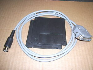 Commodore 64/128 1541/1571/1581 XE1541 PC to CBM new cable w/software..Tested
