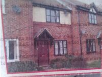 New relist (Aug 2016) 2 bed house to let, Grange Farm, Kesgrave. Private let. No agent fees