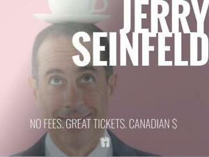 TIKTIKS | Jerry Seinfeld Oct 4/5 @ Queen Elizabeth Theatre | Much cheaper than Ticketmaster. CAD$. No Fees. CDN Company!