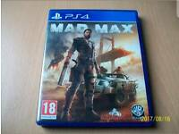 Mad max ps4 - £15