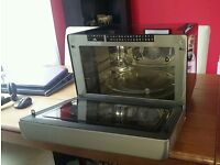 Hotpoint Ultima MWH33343B Extra Large 33 Litre Microwave, Oven & Grill