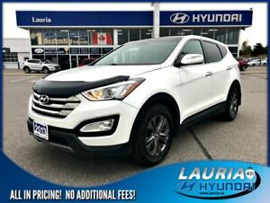 2013 Hyundai Santa Fe Sport 2.4L AWD Luxury - Leather / Panorami