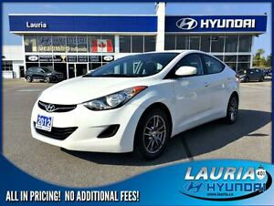 2012 Hyundai Elantra GL Auto  -  Chrome wheels / Heated seats /