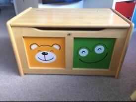 Four Friends Toy Storage Box
