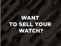 We want to buy your watch or other luxury item! ROLEX- OMEGA- CARTIER- Best local prices paid CASH!