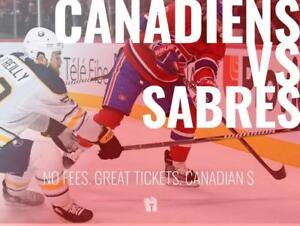 TIKTIKS | Canadiens vs Sabres Nov 8 @ Bell Centre | Cheaper than Ticketmaster. CAD$. No Fees. Canadian Company!