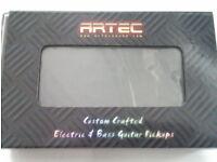 2 x Artec Bass Guitar Soapbar Pickups