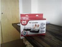 wireless tv settop box sender reciever