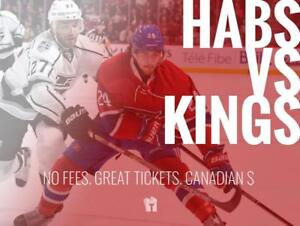 TIKTIKS | Habs vs Kings Oct 11 @ Bell Centre | Cheaper than Ticketmaster. CAD$. No Fees. Canadian Company!