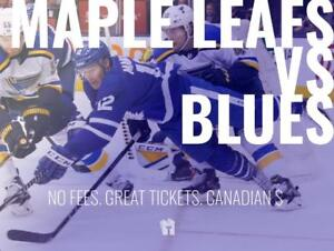TIKTIKS | Leafs vs Blues Oct 20th @ Scotiabank Arena | Cheaper than Ticketmaster. CAD$. No Fees. Canadian Company!