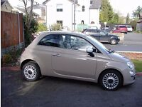 REDUCED PRICE FOR QUICK SALE !!!! IMMACULATE 2013 FIAT 500 LOUNGE VERY LOW MILEs 22k 2 OWNER FSH !!