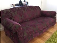 Sofa Workshop 3 Seater sofa in John Sankey fabric