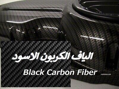 Black Carbon Fiber Hydrographics Film Water Transfer Printing 79x19 Dip Us