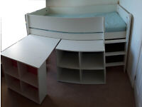 Dreams Tinsley Cabin Bed with mattress, Clean, Good condition. Smoke & pet free Home