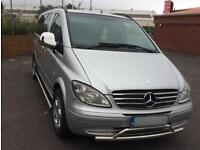 Immaculate condition Mercedes Vito Silver 2006 People carrier