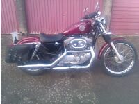 "harley davidson 21"" front wheel/tyre"