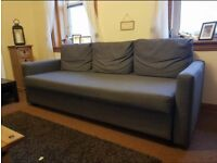 Grey sofabed for sale