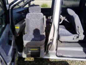 disability car Nissan Serina 7 seater car excellent condition