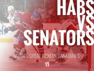 TIKTIKS | Habs vs Senators Sept 22 @ Bell Centre | Cheaper than Ticketmaster. CAD$. No Fees. Canadian Company!