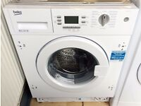 NEW - Beko 6.5KG 1200 A+ INTEGRATED Washing Machine + 2 YEAR MANUFACTURERS WARRANTY + LOCAL DELIVERY