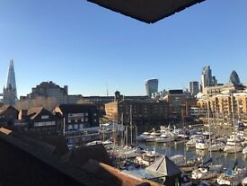 Large Studio Flat in St Katharine Docks, Tower Hill (some bills included)