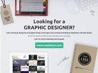 GRAPHIC DESIGNER for HIRE | LOGO-BRAND-WEB-PHOTO | ready to help!