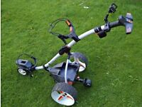 MOTOCADDY S7 remote control trolley LITHIUM BATTERY, Excellent condition, used less than 20 times