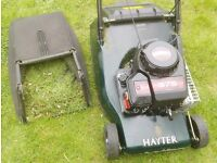 Fully Serviced Hayter Hawk 41 Self-Propelled Petrol Stripes Roller Lawnmower
