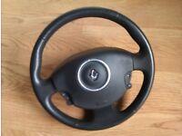 Renault Megane 2 Mk2 Steering Wheel With Airbag.