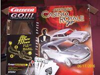 Scalextric James Bond Casino Royal Aston Martin DB5 & DBS