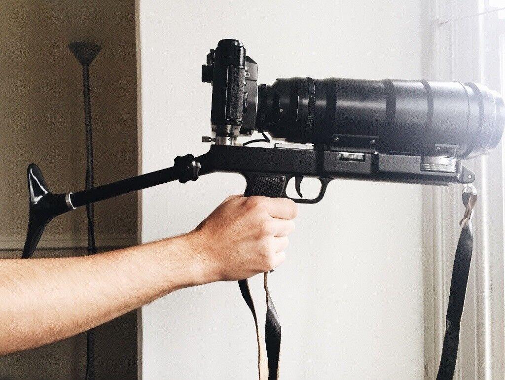 35mm Zenit 12s Photosniper (Russian Photo camera gun)