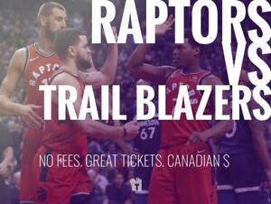 TIKTIKS | Raptors vs Trail Blazers Sept 29th @ Rogers Arena | Much cheaper than Ticketmaster. CAD$. No Fees. CDN Company