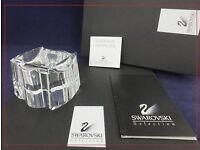 Swarovski Crystal Limited Edition Ashtray - Cendrier 168007 / 9280 000 017 MINT Boxed with COA