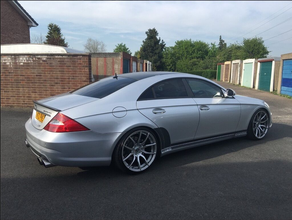 2006 mercedes cls 55mg number plate not included in sale for Mercedes benz cls 400 for sale